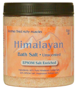 Image of Himalayan Bath Salt with Epsom Salt