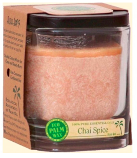 Image of Candle Aloha Jar Chai Spice Light Brown