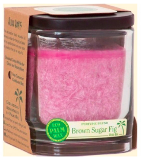 Image of Candle Aloha Jar Brown Sugar FIg Light Rose