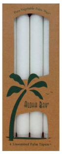 Image of Candle Taper 9 inch Unscented White
