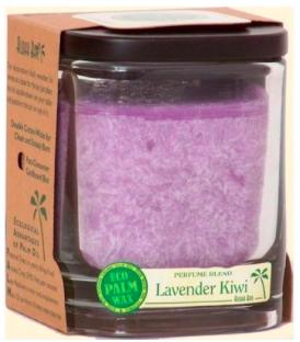 Image of Candle Aloha Jar Lavender Kiwi