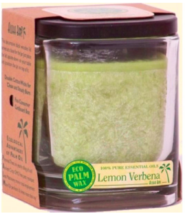 Image of Candle Aloha Jar Lemon Verbena Melon