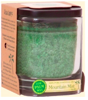 Image of Candle Aloha Jar Mountain Mist Dark Green