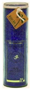 Image of Candle Chakra Jar Unscented Abundance (Ajna) Indigo