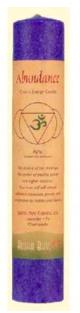 Image of Candle Chakra Pillar Abundance Indigo