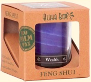 Image of Candle Feng Shui in Gift Box Water (Wealth) Indigo