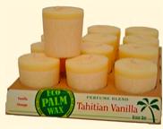 Image of Candle Votive Perfume Blend Tahitian Vanilla Ivory