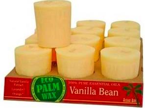 Image of Candle Votive Perfume Blend Vanilla Bean Cream