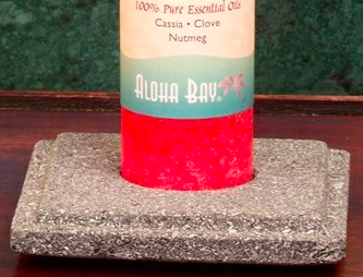 Image of Lavastone Pillar Holder