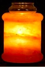 Image of Himalayan Salt Aroma Lamp Pillar