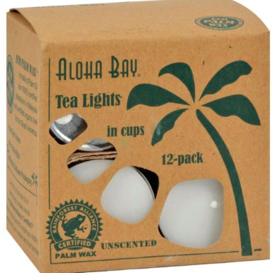 Image of Candle Tea Light Unscented White