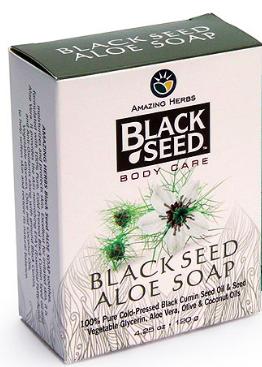Image of Black Seed Body Care Soap Bar Aloe