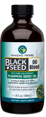 Image of Black Seed and Pumpkin Seed Oil Blend Liquid