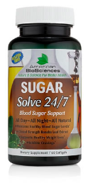 Image of Sugar Solve 24/7 Blood Sugar Support (with Banaba Leaf)