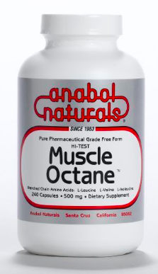 Image of Muscle Octane BCAA's 500 mg
