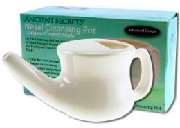 Image of Nasal Cleansing Pot (Neti Pot)