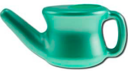 Image of Nasal Cleansing Pot Plastic Travel (Neti Pot)