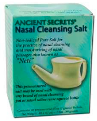 Image of Nasal Cleansing Salt Packet