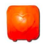 Image of Himalayan Salt Tea Light Heart