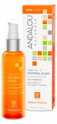 Image of Argan Oil + C Natural Glow 3 in 1 Treatment