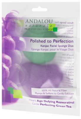 Image of Konjac Facial Sponge Duo Polished to Perfection