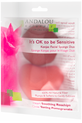 Image of Konjac Facial Sponge Duo It's OK to be Sensitive