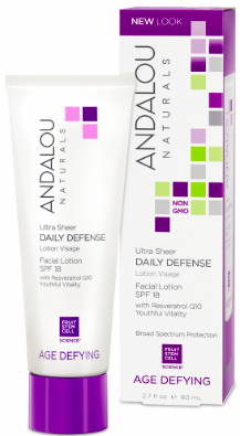 Image of Age Defying Ultra Sheer Daily Defense Facial Lotion SPF 18