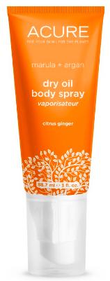 Image of Dry Oil Body Spray Citrus Ginger