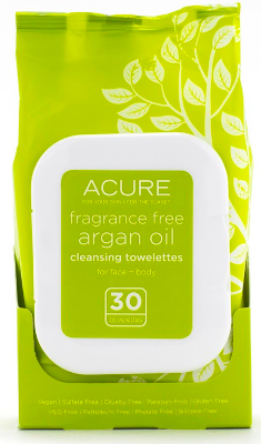 Image of Argan Oil Cleansing Towelette (Fragrance Free)