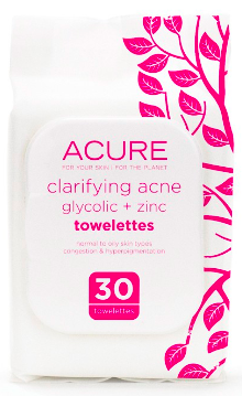 Image of Clarifying Acne Towelettes