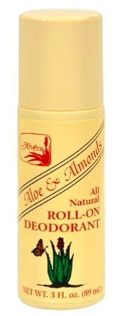 Image of Aloe & Almonds All Natural Roll-On Deodorant