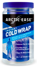 Image of Arctic Ease Instant Cold Wrap Adult Black