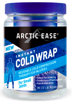 Image of Arctic Ease Instant Cold Wrap Small Joint Blue