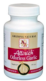 Image of Allirich Odorless Garlic 500 mg