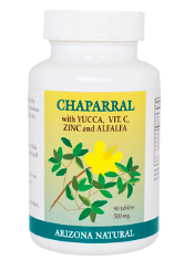 Image of Chaparral with Yucca, Vit C, Zinc & Alfalfa