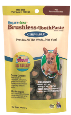 Image of BREATH-LESS Brushless Toothpaste for Dogs Chewable Mini