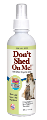 Image of Don't Shed on Me Spray for Dogs & Cats