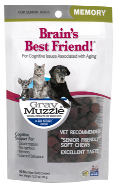 Image of Gray Muzzle Brain's Best Friend! for Senior Dogs & Cats