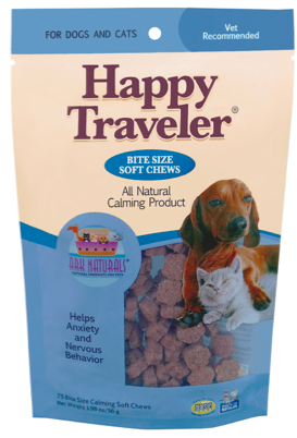 Image of Happy Traveler Soft Chews for Dogs & Cats