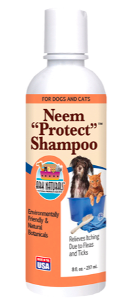 Image of Neem Protect Shampoo for Dogs & Cats (Relieves Itching)