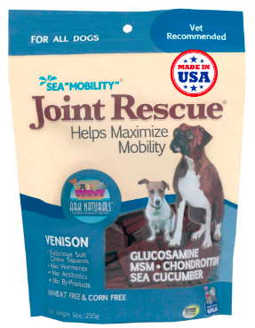 Image of Sea Mobility Joint Rescue Chewable for Dogs Venison