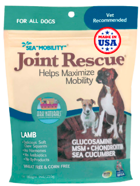 Image of Sea Mobility Joint Rescue Chewable for Dogs Lamb