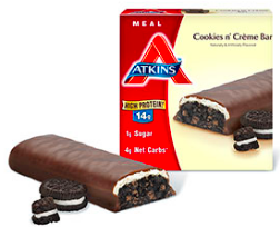 Image of Advantage Meal Bar Cookies n Creme