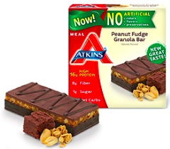 Image of Advantage Meal Bar Peanut Fudge Granola