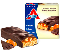 Image of Advantage Snack Bar Caramel Chocolate Peanut Nougat