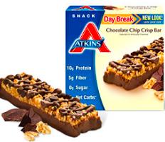 Image of Day Break Bar Chocolate Chip Crisp Bar
