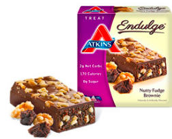 Image of Endulge Bar Nutty Fudge Brownie