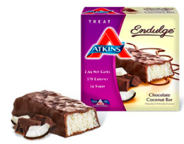 Image of Endulge Chocolate Coconut Bar
