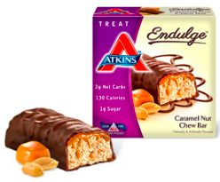 Image of Endulge Bar Caramel Nut Chew
