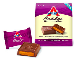 Image of Endulge Milk Chocolate Caramel Squares